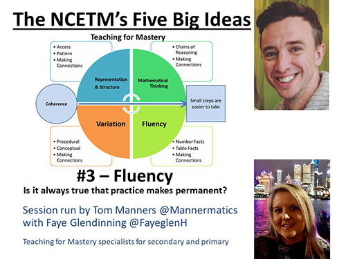 NCETM's Five Big Ideas - Fluency